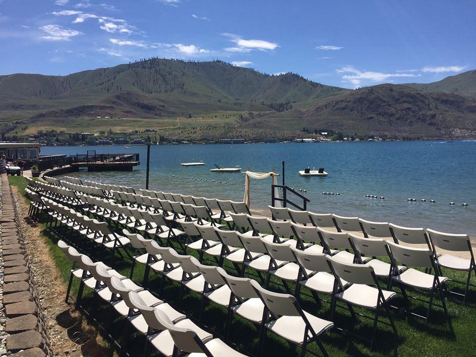 Weddings Darnells Resort On Lake Chelan